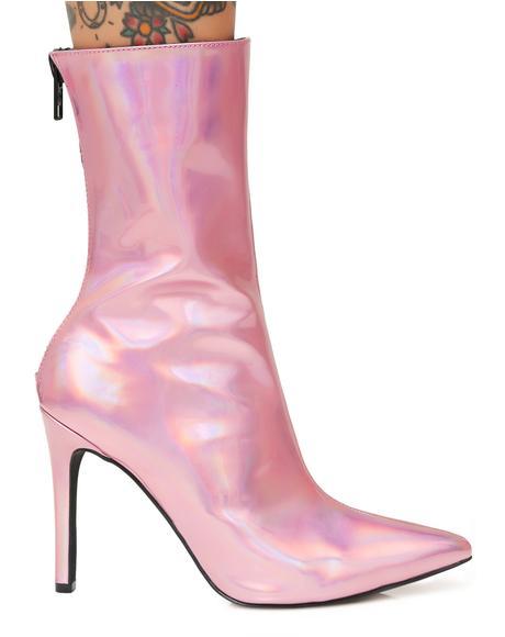 Cosima Hologram Boots