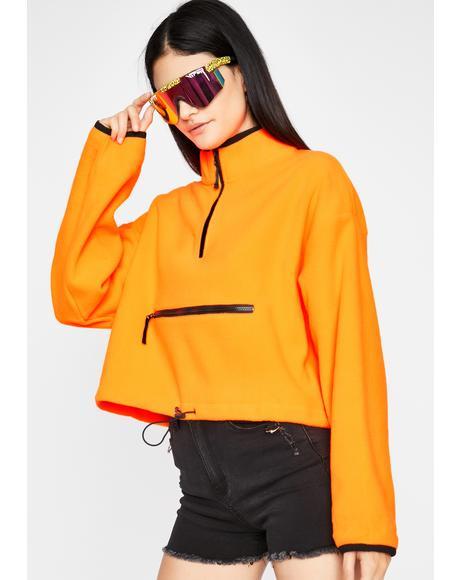 Hardly Stuntin' Fleece Pullover