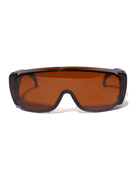 Smoke Frame Sunglasses