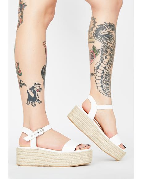 Chill Sunny Daze Platform Sandals
