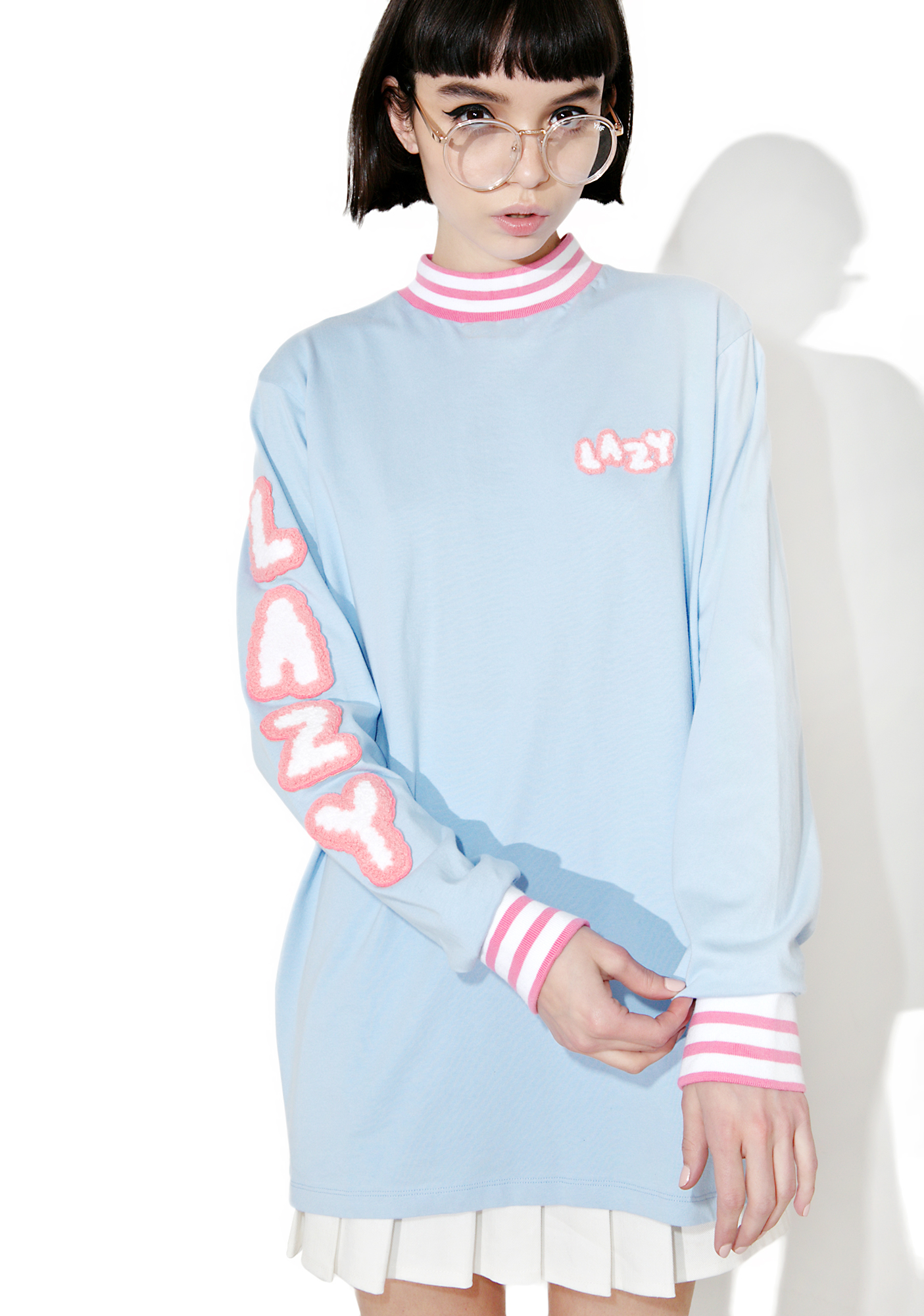 Lazy Oaf Lazy Letters Long Sleeve Tee