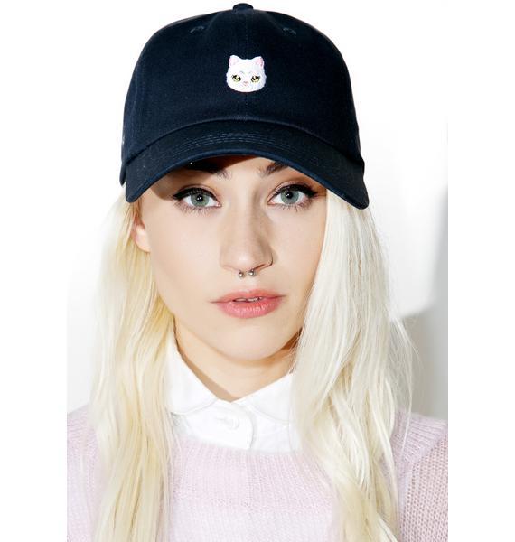 CRSHR Cute Kitty Dad Hat