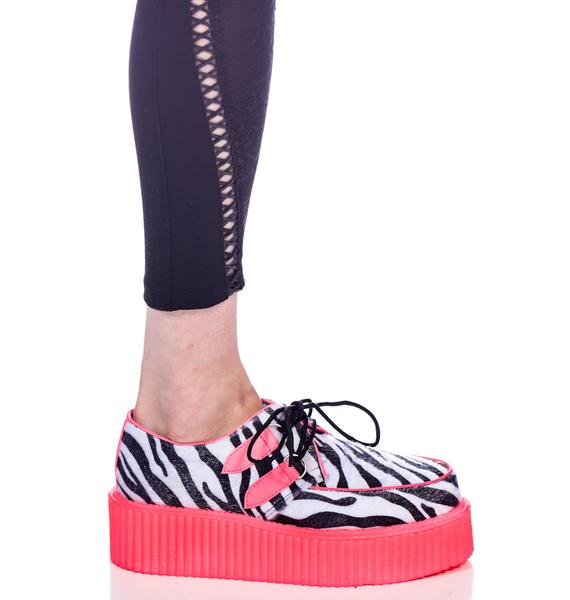 Demonia UV Cheetah Creepers