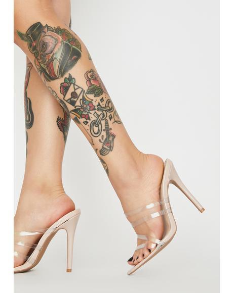 Queen Treatment Strappy Heels