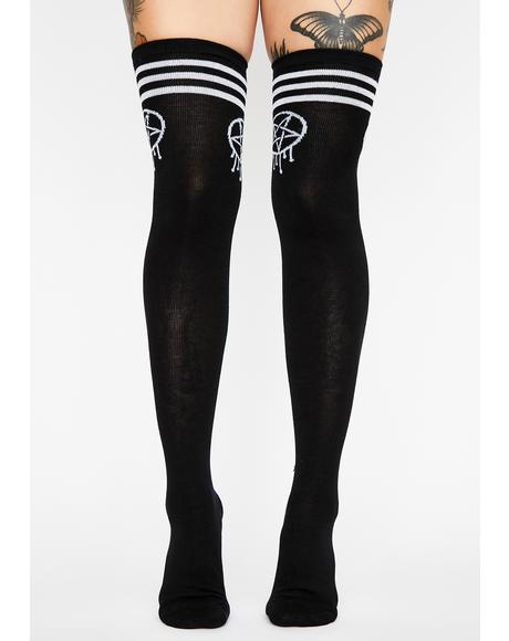 Sporty Gram Thigh Highs