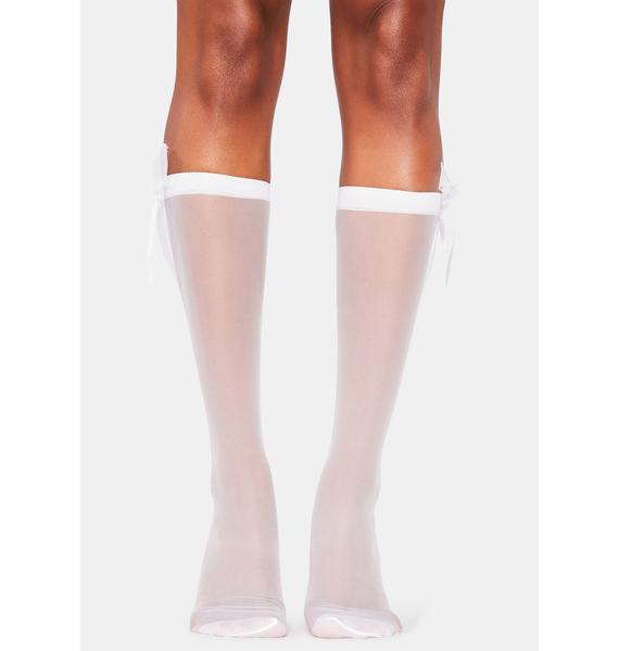 Dolled Up Knee High Socks