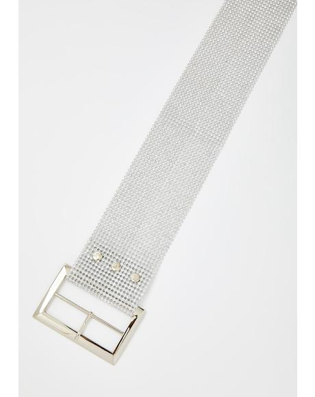 Totally Famous Rhinestone Belt