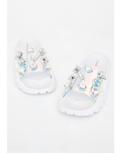 Cosmic Freak Jeweled Slides