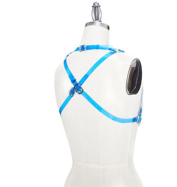 Club Exx Chain Reaction Harness Bra Top