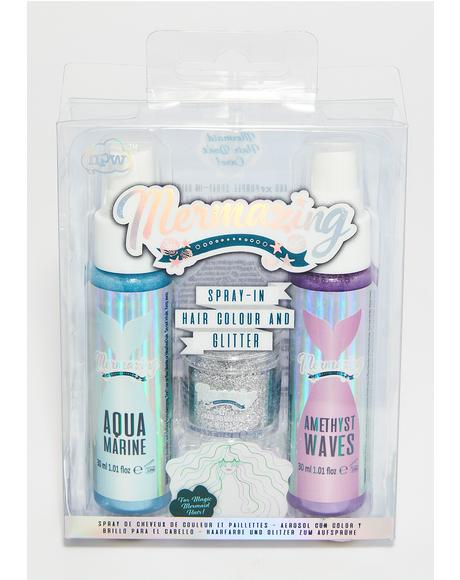 Mermaid Spray In Hair Duo