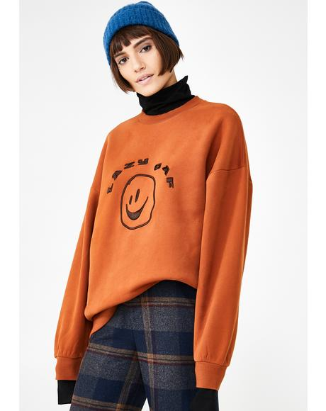 Squish Face Layer Sweatshirt