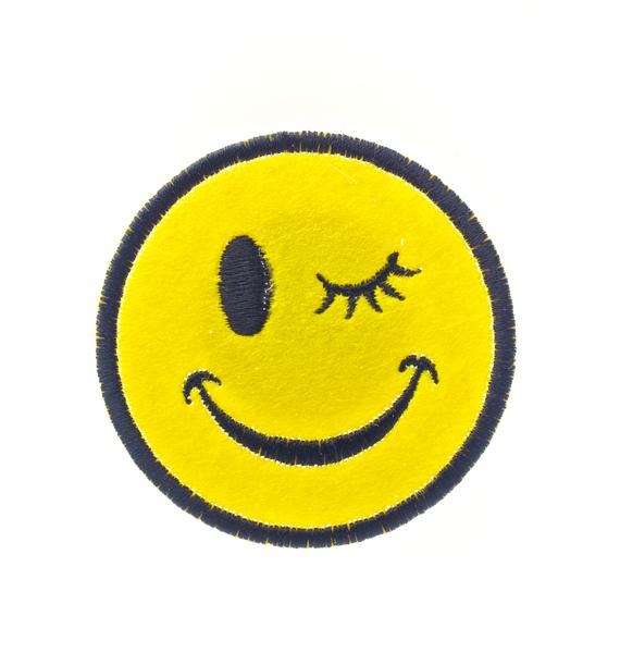 Wink Face Pin