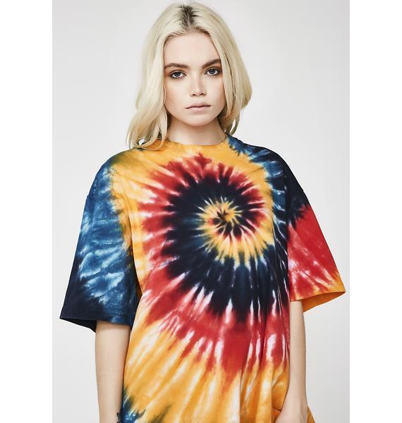 Rasta On Anotha Level Tie Dye Shirt