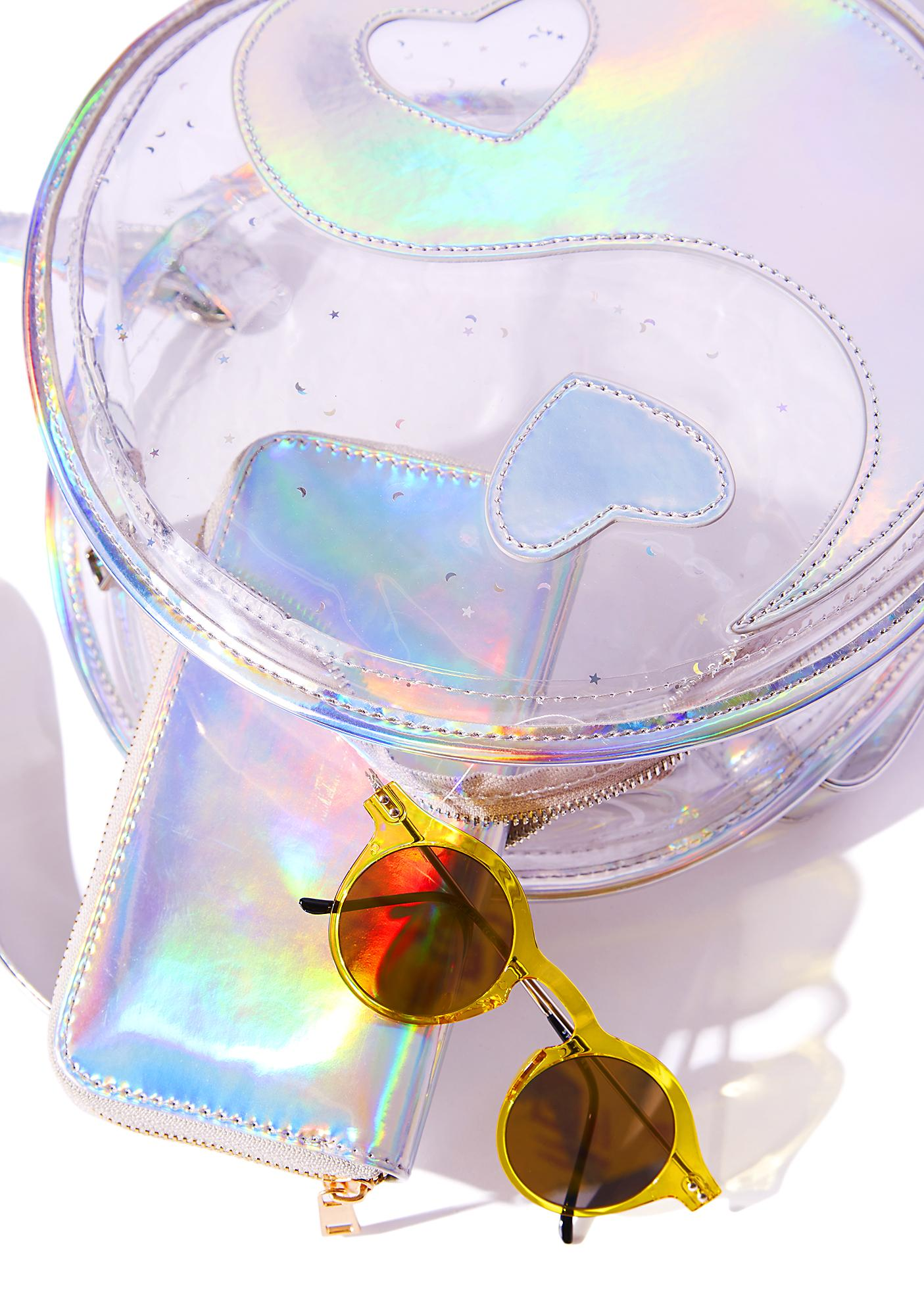Current Mood Yin-Yang Holographic Backpack