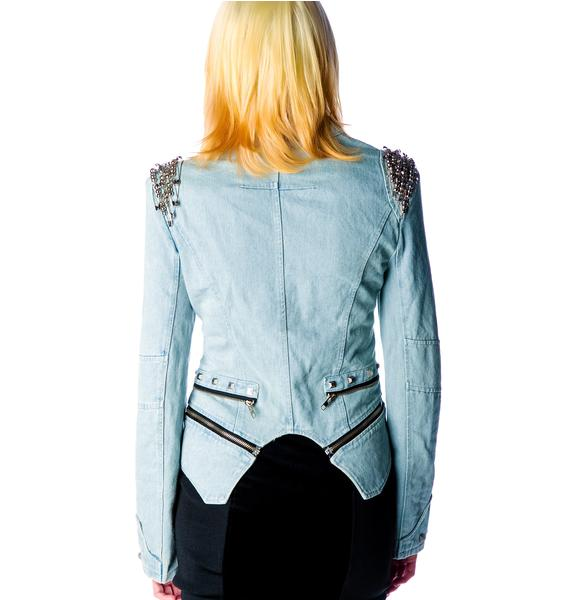 On Pins and Needles Denim Jacket