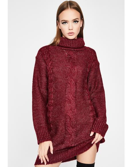 Fall For It Sweater Dress