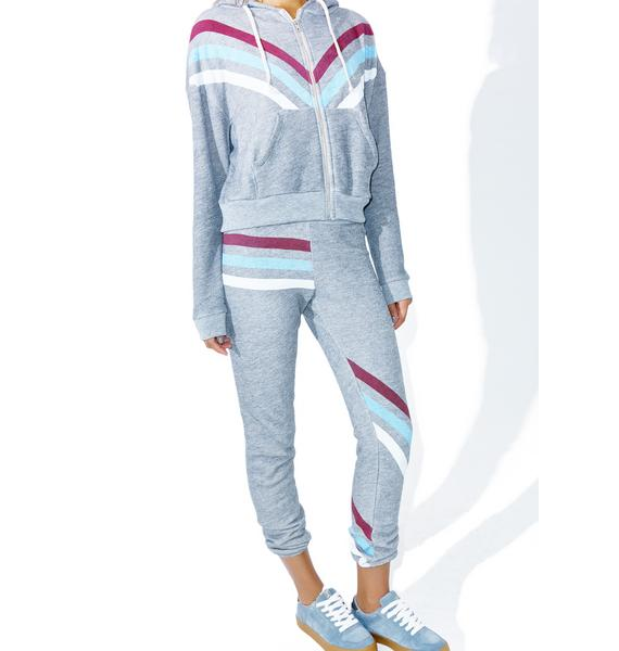 Wildfox Couture Tri Stripe Knox Pants