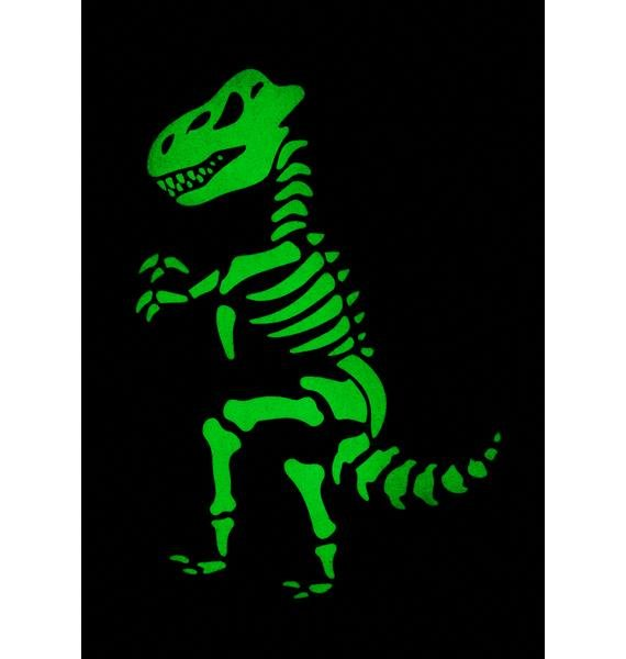 Dino Daze Glow In The Dark Bag