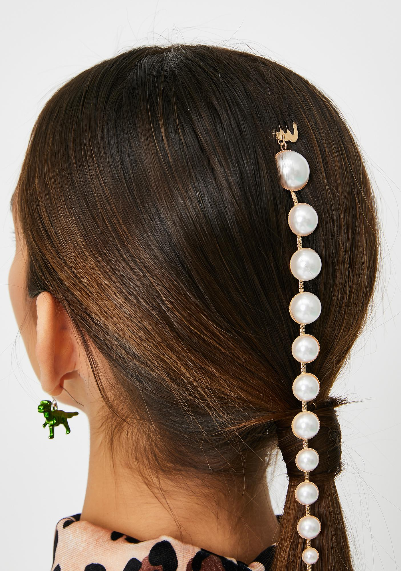Enchanted Oceans Pearl Hair Extension