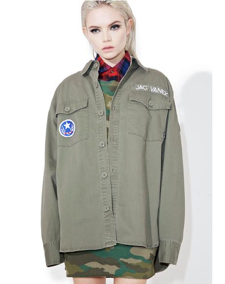 Don't Be A Dick Army Jacket