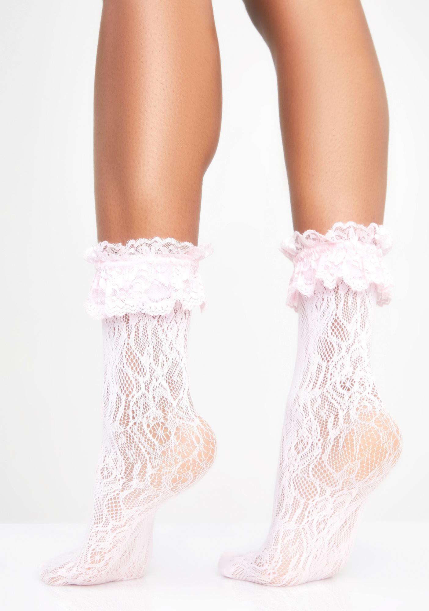 Sugar Romantica Lace Socks