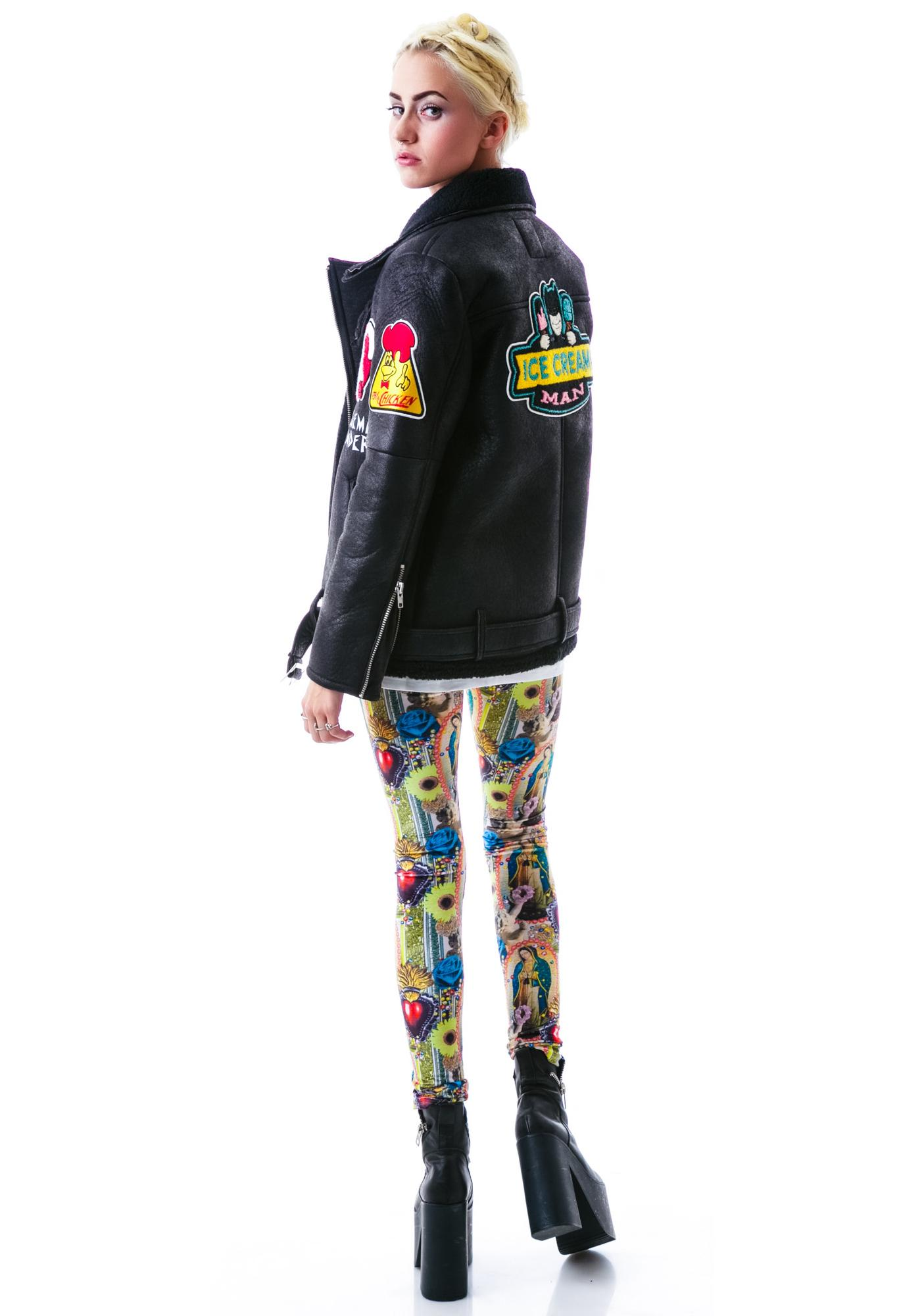 Halfman Romantics Hot Dogs Bomber Jacket