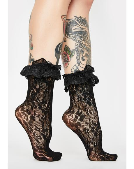 Lavish Legion Ruffle Socks