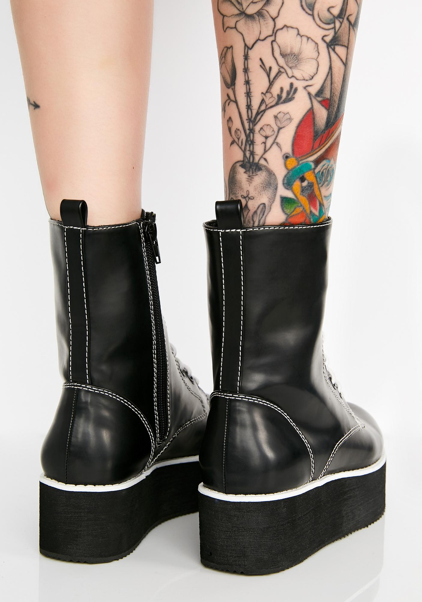 Rocket Dog x California Girls Rage Platform Boots