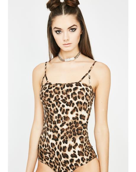 Day Faded Leopard Bodysuit
