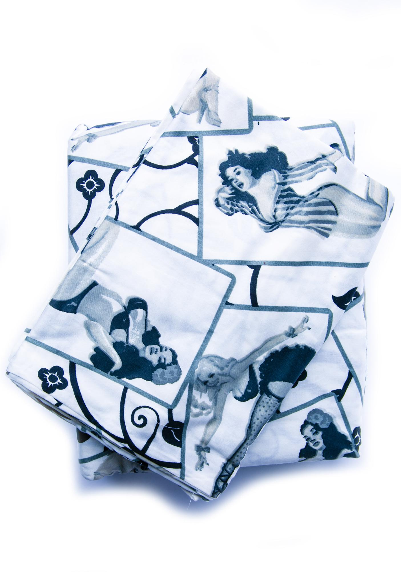 Pinup Betty Bordello Sheet Set
