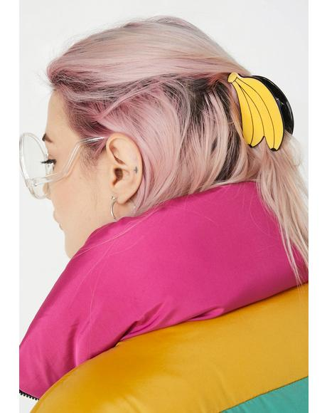 This Ish Is Bananas Hair Clip