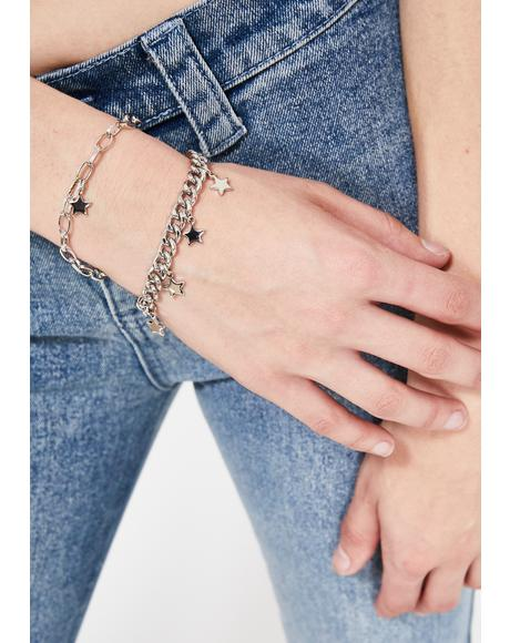 Starshine Surprise Chain Bracelet