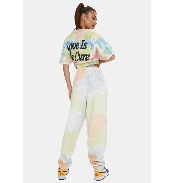 Obey Sustainable Tie Dye Sweatpants