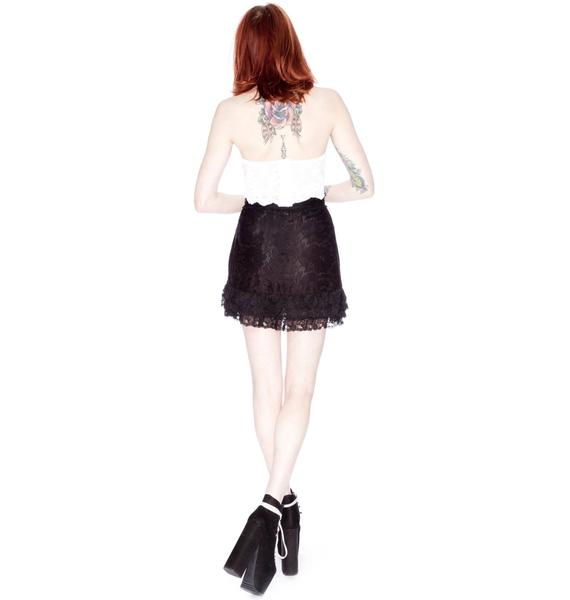 Wildfox Couture Ranch Coyote Mini Skirt