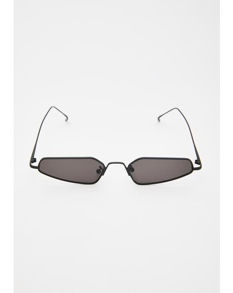Sinna Camera Ready Abstract Sunglasses