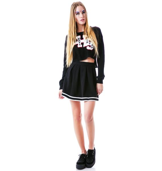 Mink Pink Cheerleader Skirt