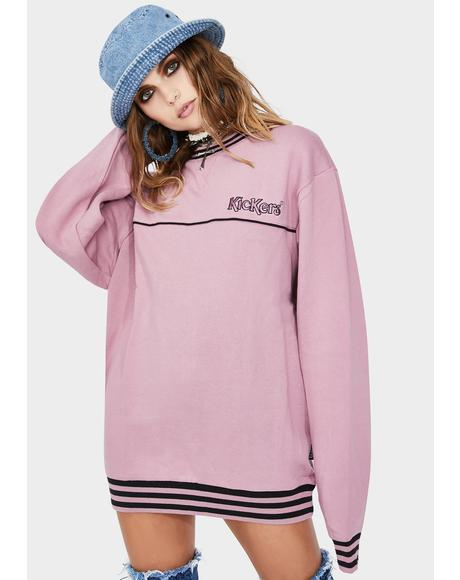 Piped Crewneck Sweatshirt