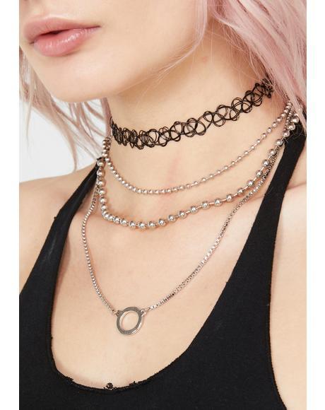 Dope Divine Necklace Set