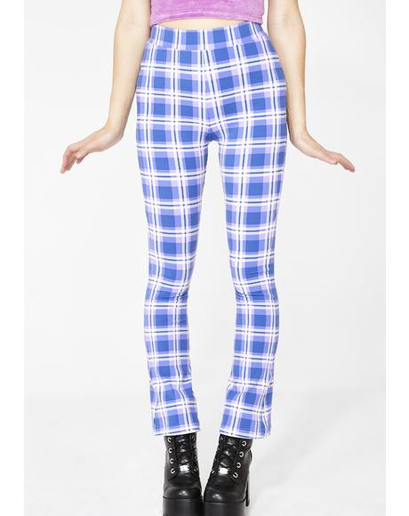 Dear Diary Plaid Pants