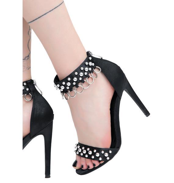Strut The Streets Embellished Heels