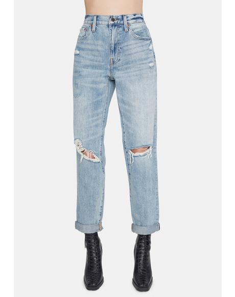 Presley High Rise Vintage 90s Denim Jeans