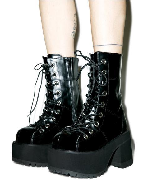 Under Pressure Platform Boots