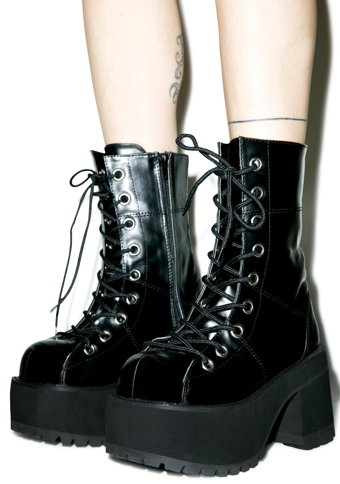 Demonia Shoes And Boots