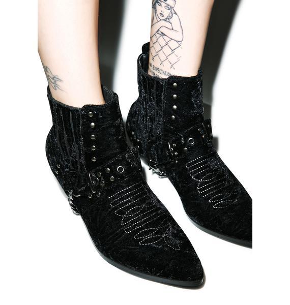 Y.R.U. Laso Velvet Boot