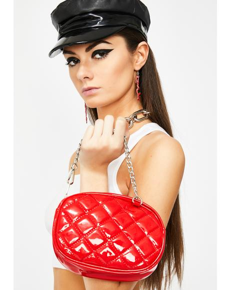 Cherry High Class Quilted Fanny Pack