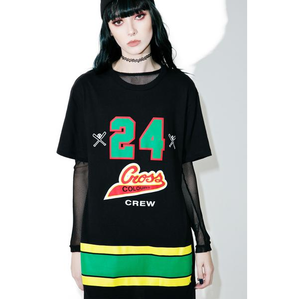 Cross Colours 24 Crew T-Shirt