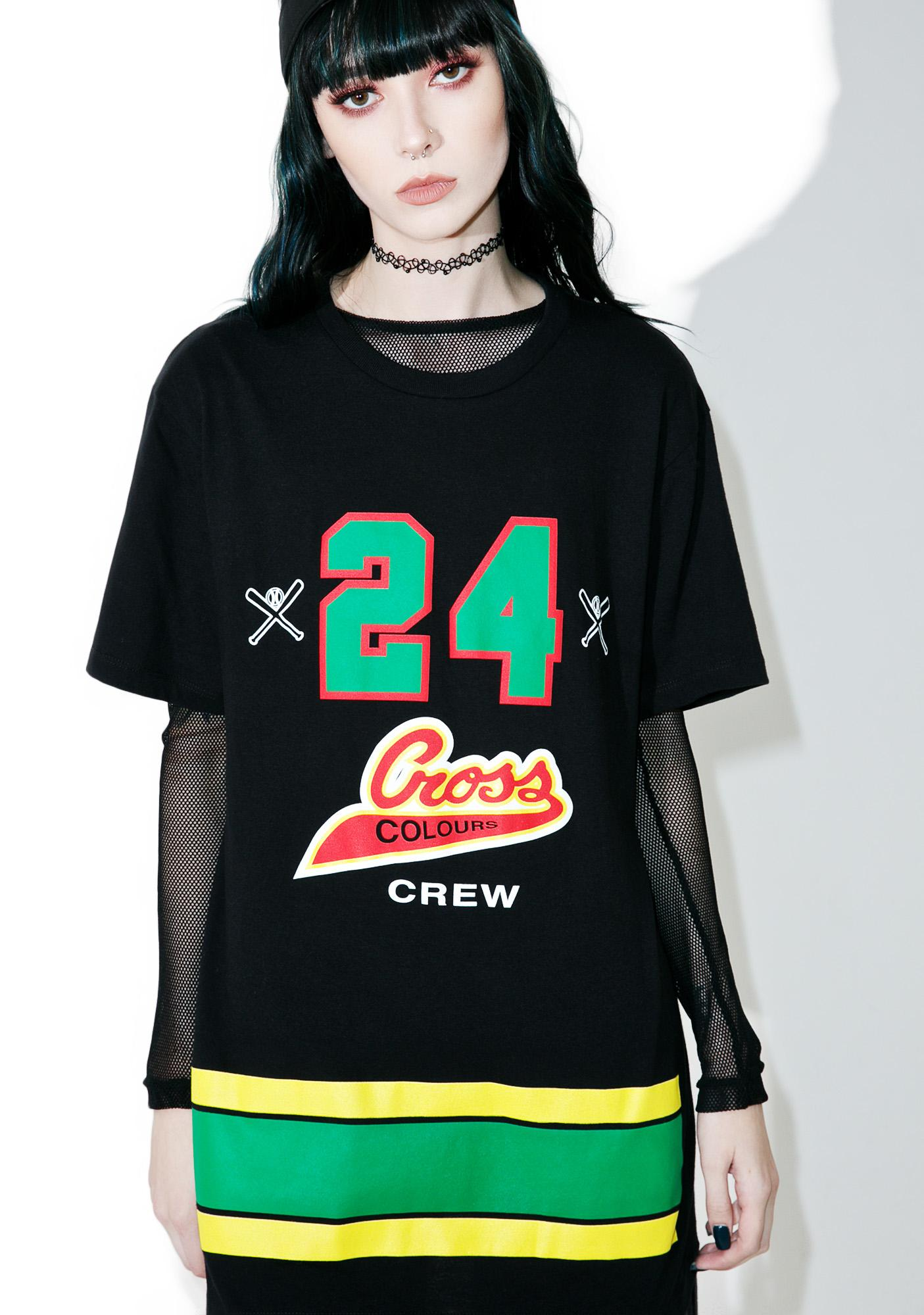 Cross Colours 24 Crew T-Shirt