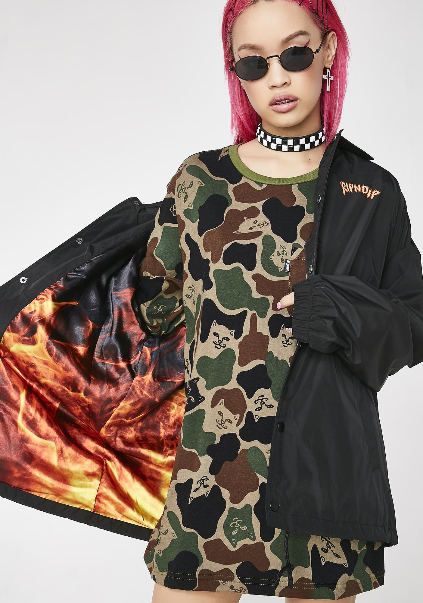 RIPNDIP Inferno Coach Jacket