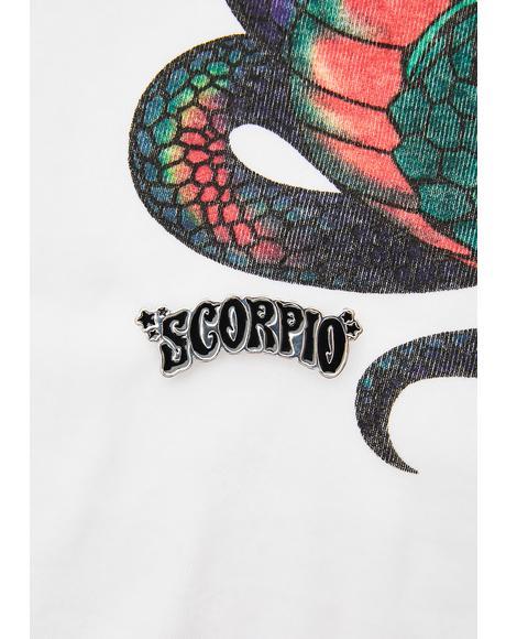 Scorpio Enamel Pin