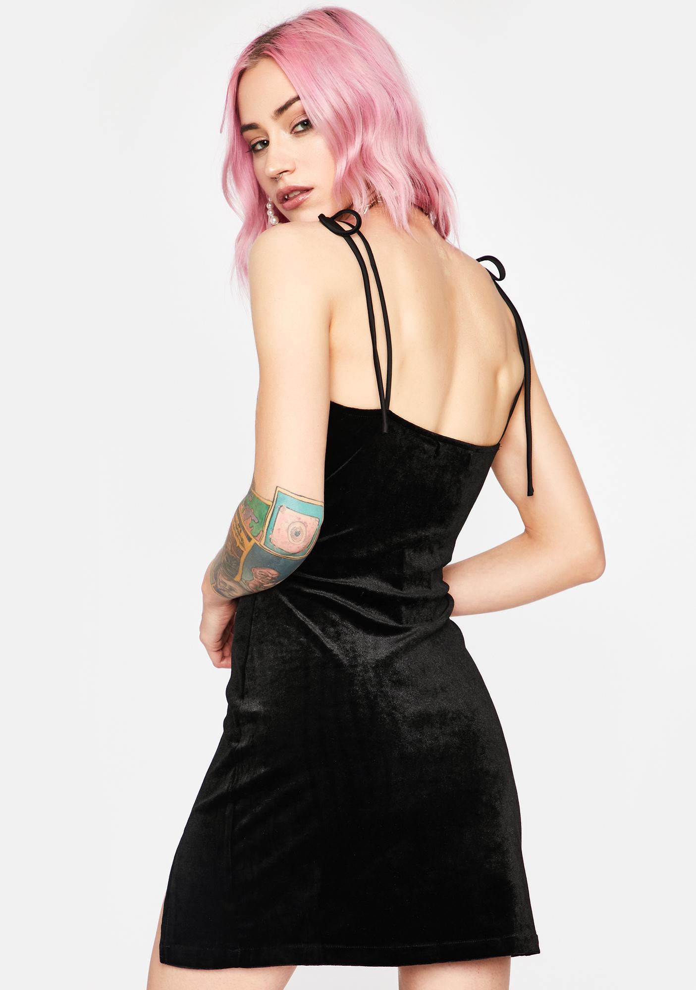 Sassy Society Velour Dress